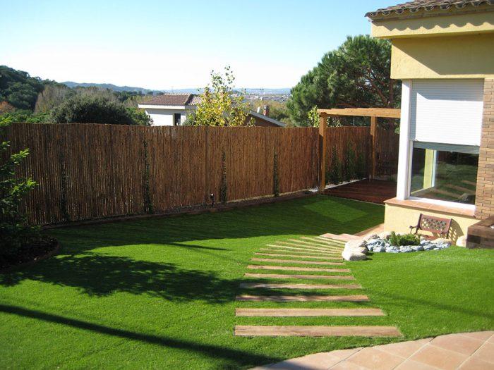diseño de jardín en Vilanova de Vallès