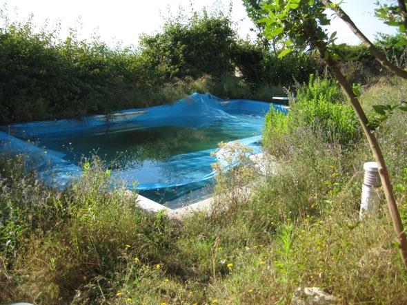 renovación piscina exterior