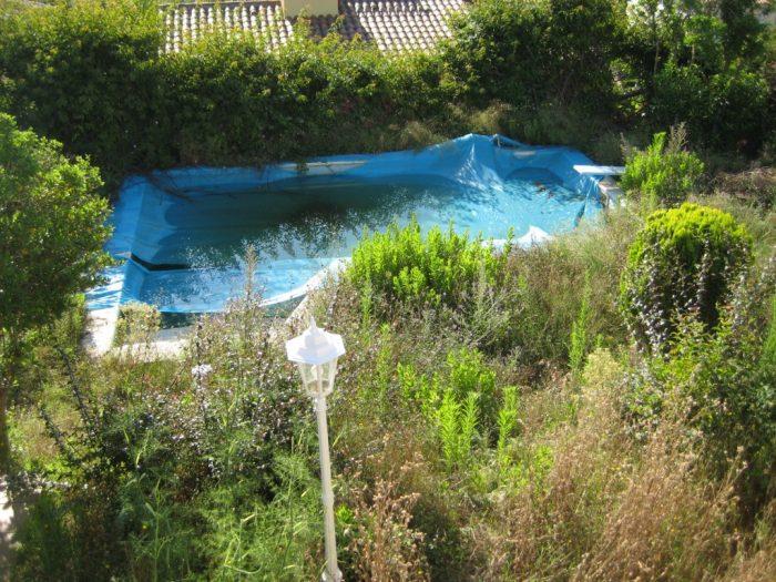 mejora del jardin y piscina