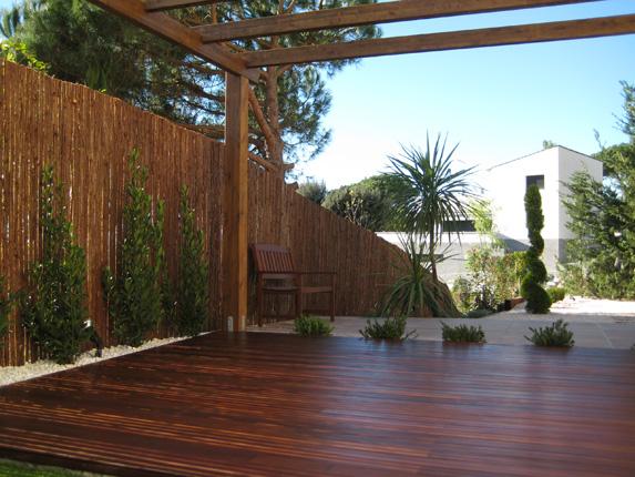 tarimas de madera de exterior