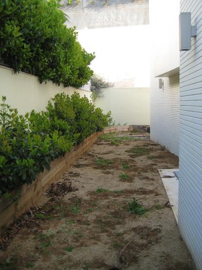 zona para arreglar el jardín