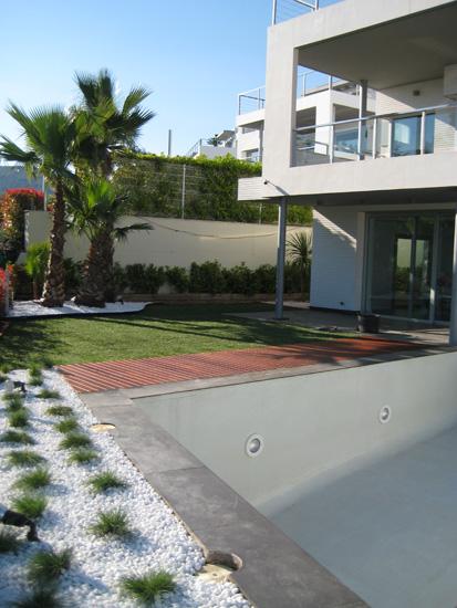 diseño de jardín finalizado