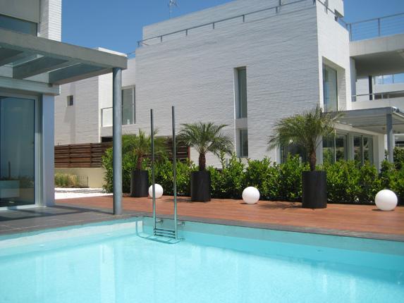 piscina de diseño en vilassar de dalt