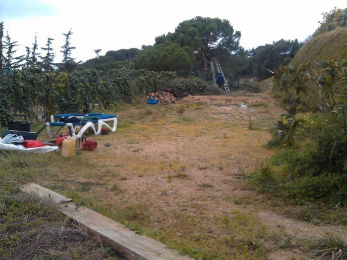paisajismo en Sant Vicenç de Montalt