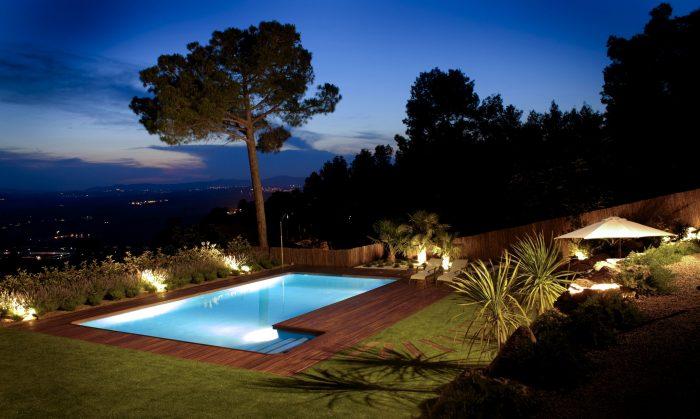 diseño de iluminación jardin